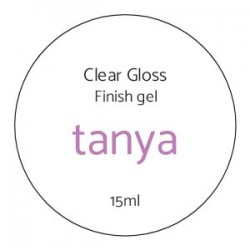 Clear Gloss Finish gel...