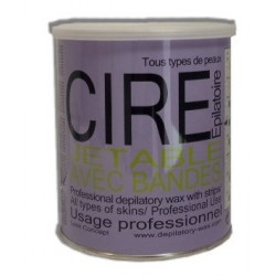 CIRE JETABLE POT TOPAZE MIEL 800ML