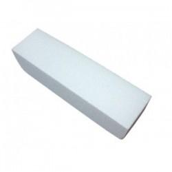Bloc polissoir mousse blanc