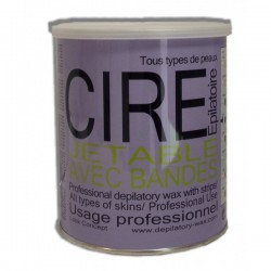CIRE JETABLE POT CHLOROPHYLLE 800ML x 10