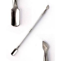 Pousse peaux metal double 13cm CUTTY
